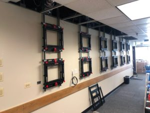 Jeffco Emergency Management Video Wall Structure